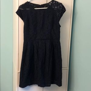 Forever 21 Navy blue lace dress